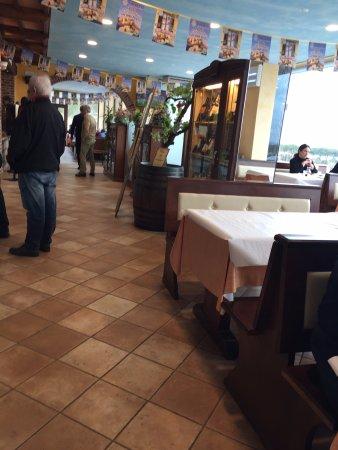 Torricella di Magione, Ιταλία: Sempre sala interna