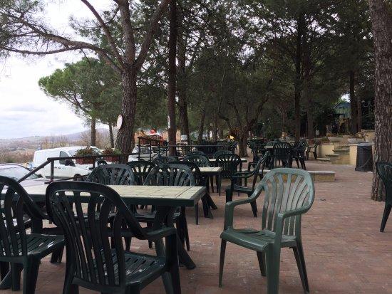 Torricella di Magione, Italy: Sempre zona all'aperto