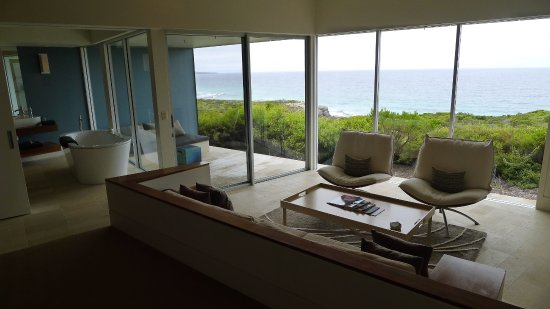 chambre avec vue sur la mer billede af southern ocean lodge kingscote tripadvisor. Black Bedroom Furniture Sets. Home Design Ideas
