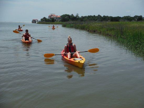 Saint Simons Island, GA: Turtle Tides Kayak Eco tours