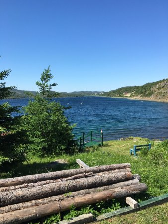 Springdale, Canada: View from the deck