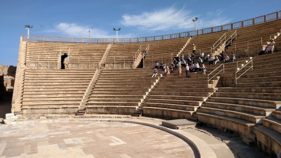 Caesarea, İsrail: the theater