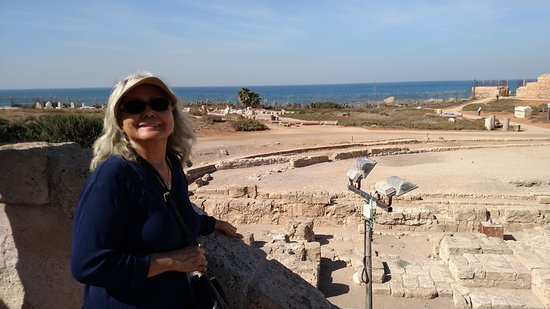Caesarea, İsrail: having a great time