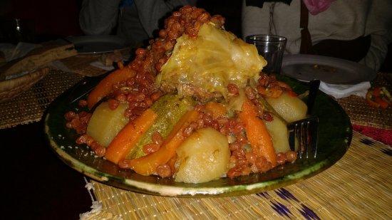 magnifico cuscus para cenar!