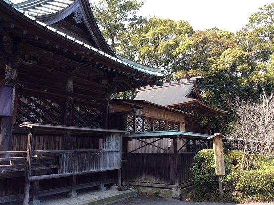 Miho Shrine : 拝殿と御本殿