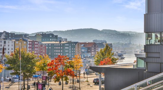 Trondheim Municipality, Noruega: Idyllisk utsikt