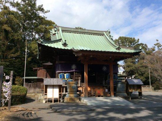Miho Shrine : 拝殿の風景