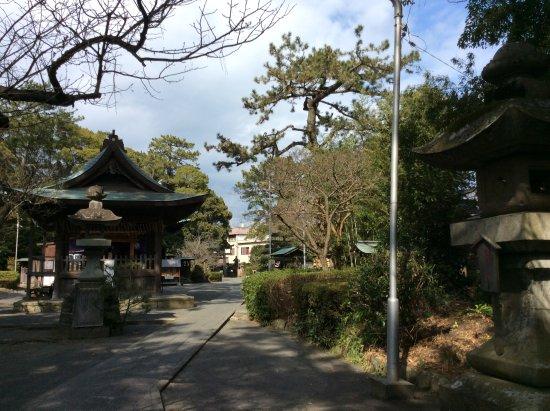 Miho Shrine : 鳥居をくぐって拝殿