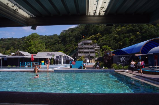 Waiwera, Nueva Zelanda: The Main Swimming pool