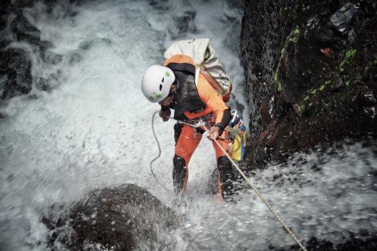 Canyoning Lombok