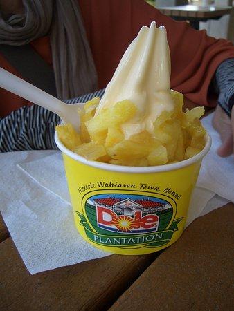 ワヒアワ, ハワイ, パイナップル ソフトクリーム