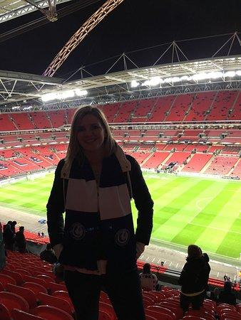 Wembley, UK: Tottenham - Gent