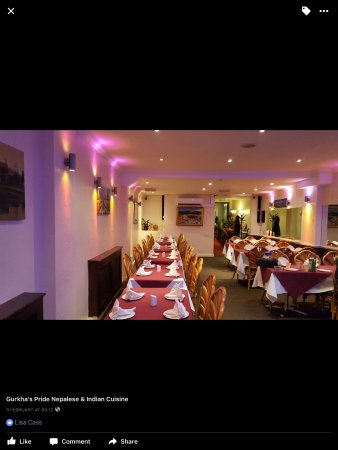 Ruislip, UK: Dinning Area