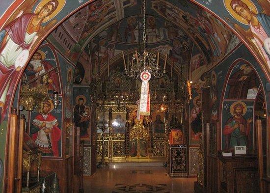 Larnaka District, Cypr: Убранство монастырского храма