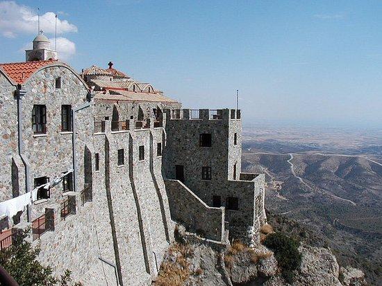 Larnaka District, Cypr: Монастырь Ставровуни
