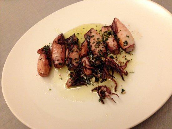 Restaurant de Gurp: Chipirones a la plancha