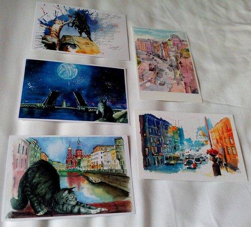 Открытки из санкт-петербурга дом книги, картинки 320