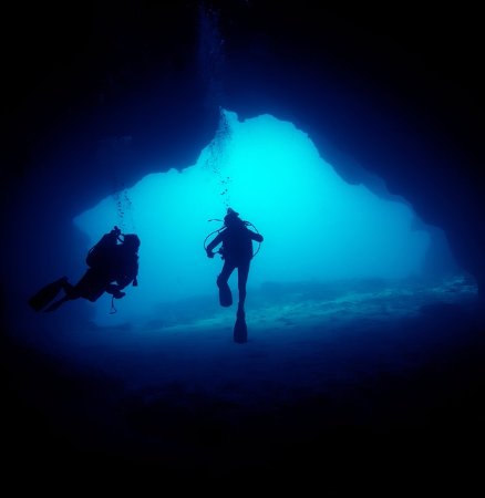 Limassol District, Cyprus: 50m caves at Jubilee shoals