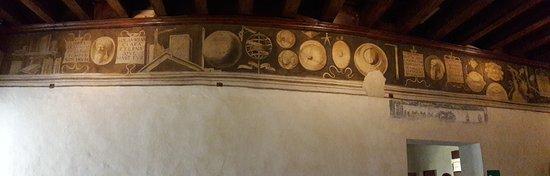 Museo Casa di Giorgione: Panoramica Fregio