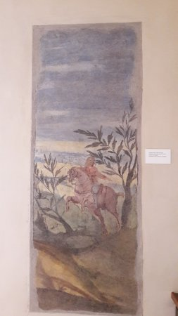 Museo Casa di Giorgione: Affresco Pittore veneto anonimo