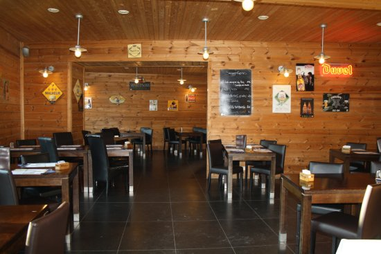 Anhée, بلجيكا: salle de la Brasserie 