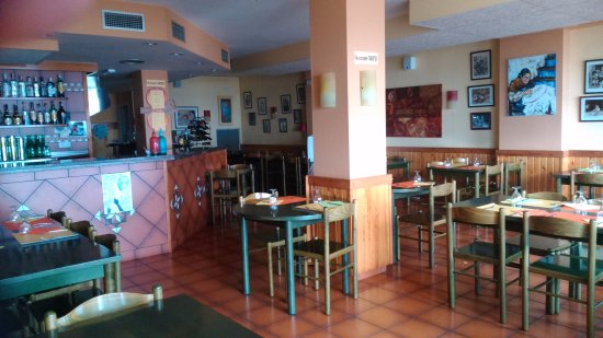 Restaurant El Sorrall: Interior