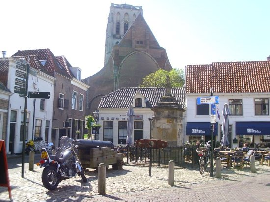 View From Near The Stocks Close To De Smaeck Van Brielle Restaurant