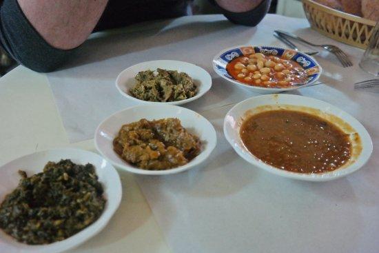 Berrada Family restaurant : starters