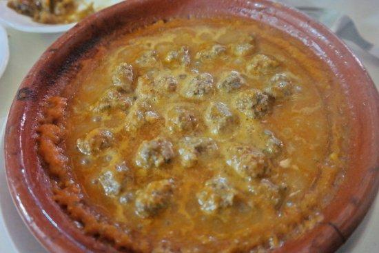 Berrada Family restaurant : meat balls