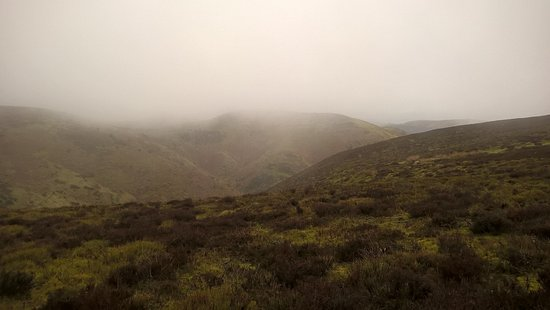Church Stretton, UK: The rolling mist