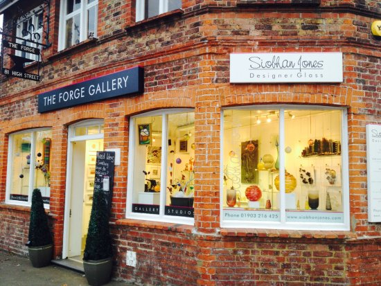 Worthing, UK: Home of Siobhan Jones Designer Glass & Ashes in Art. There is a lot going on here at The Forge!