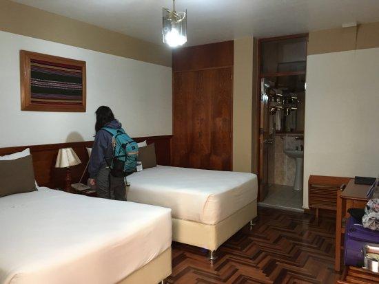 BEST WESTERN Los Andes De America: la primera habitación que tuvimos