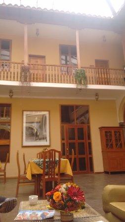 BEST WESTERN Los Andes De America: el patio principal