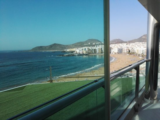 Reina Isabel Hotel: Vista dalla SPA