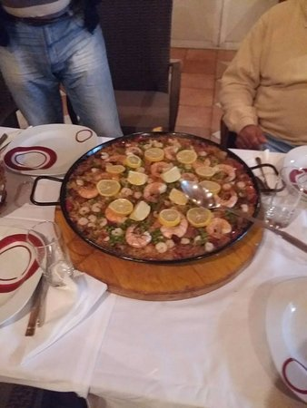 Trpanj, Croacia: spanish food also prepared by us
