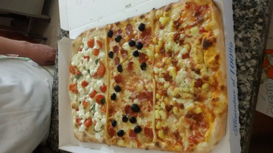 Piero Pizza Flash: Anche pizze a metro!