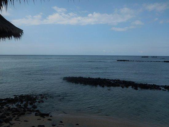 Coral Beach 1: vue de la cabane