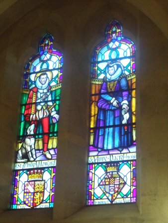 Arundel, UK: Stained Glass