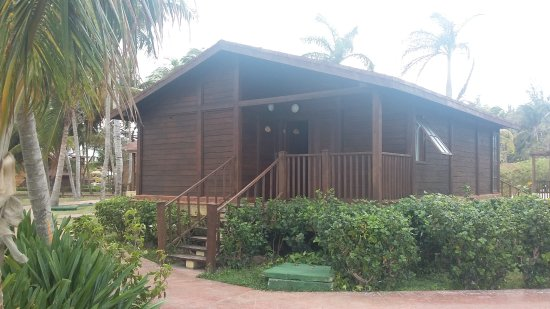 Wooden Bungalow Picture Of Gran Caribe Club Cayo Guillermo