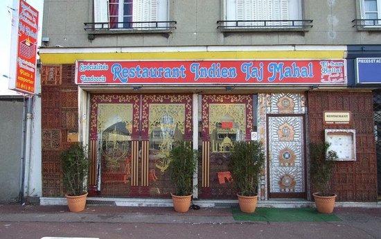 Le Blanc-Mesnil, France : restaurant taj mahal