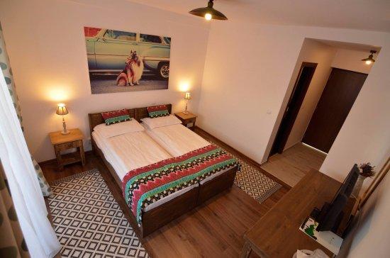 Toplita, Romania:  double room