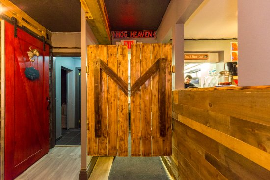 Saloon Doors To The Meat Kitchen