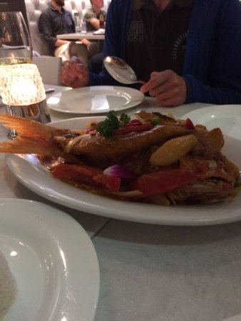 CVI.CHE 105: Red Snapper and several sea food.