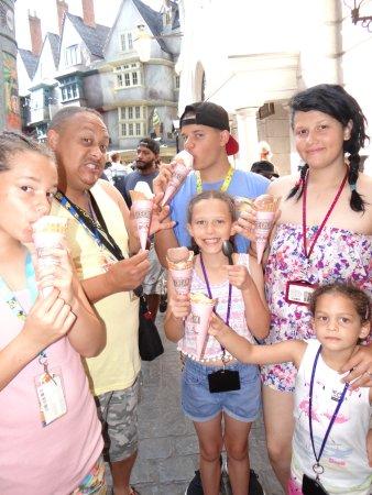 Florean Fortescue's Ice Cream Parlour: ice cream