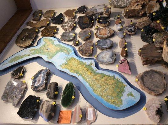 Millers Flat, New Zealand: gemstones