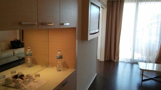 Laguna Palace Hotel: Wohnzimmer Familienappartment