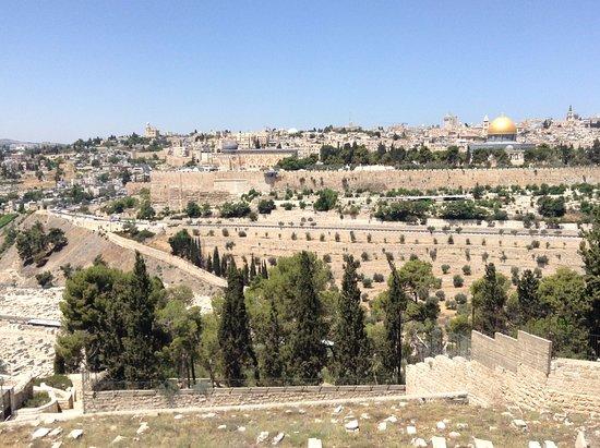 View of Jerusalem from Dominus Flevit