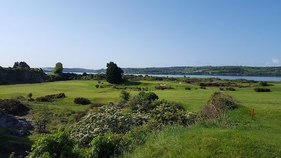 County Cork, Irlanda: Cork Golf Club from the 12th tee on a lovely sunny day in July