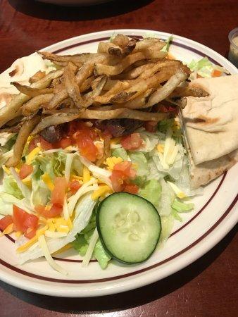 North Canton, OH: Steak Salad