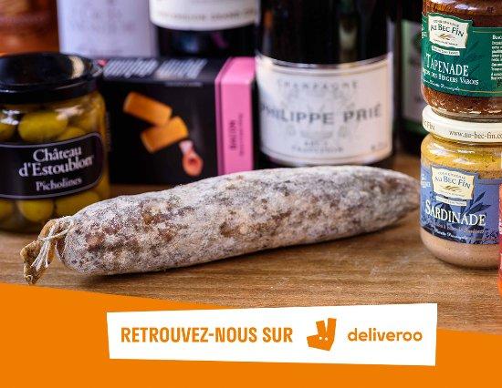 Montreuil, France: Nos produits salés livrés par Deliveroo